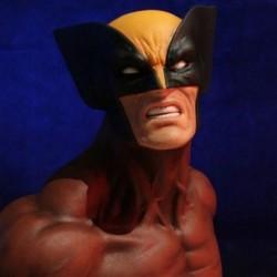 Marvel - Buste 1 6 Wolverine Brown 18 cm